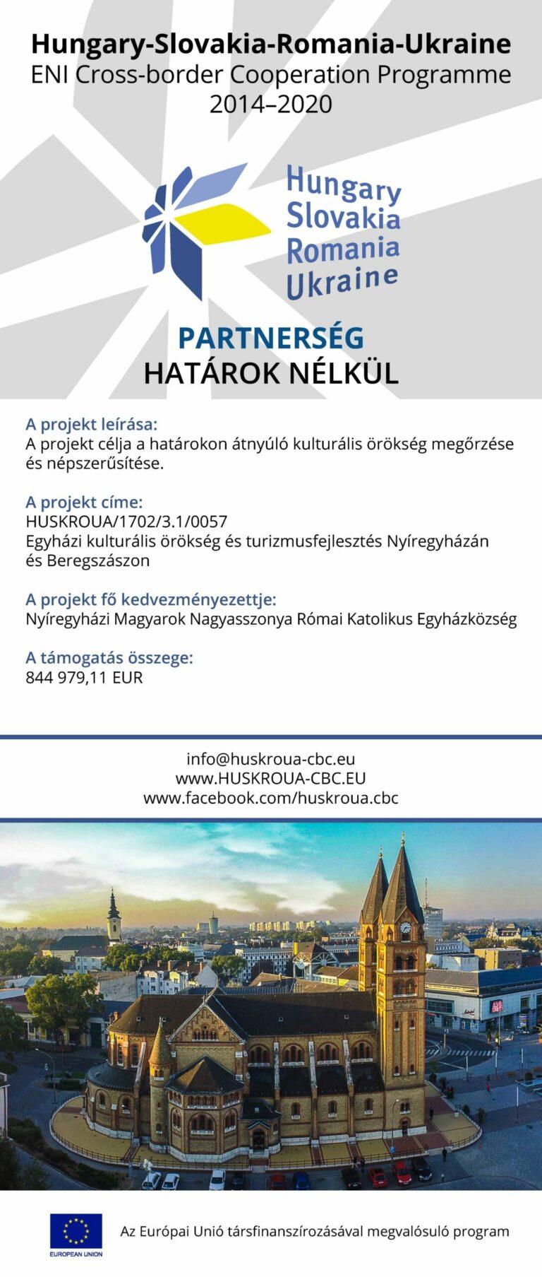 Magyarok Nagyasszonya Egyházközség roll-up